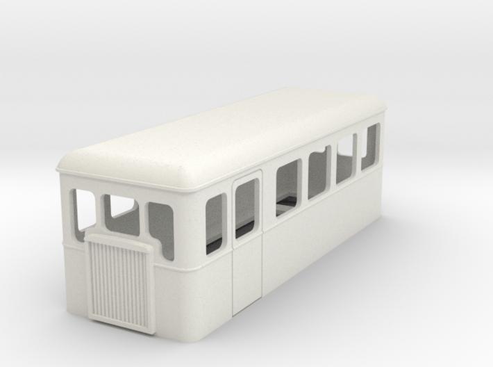 009 cheap and easy bogie railcar 20 3d printed