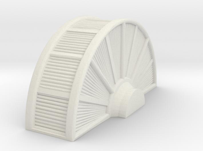 Industrial Turbine 1/56 3d printed