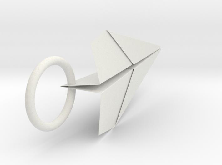 紙飛機小吊飾 3d printed