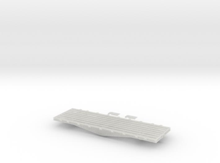 PRR F22/F23 Flat Car in S Scale 3d printed