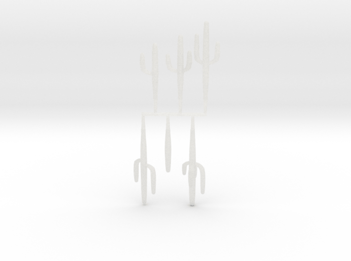 Z Scale Saguaro Collection 01 3d printed