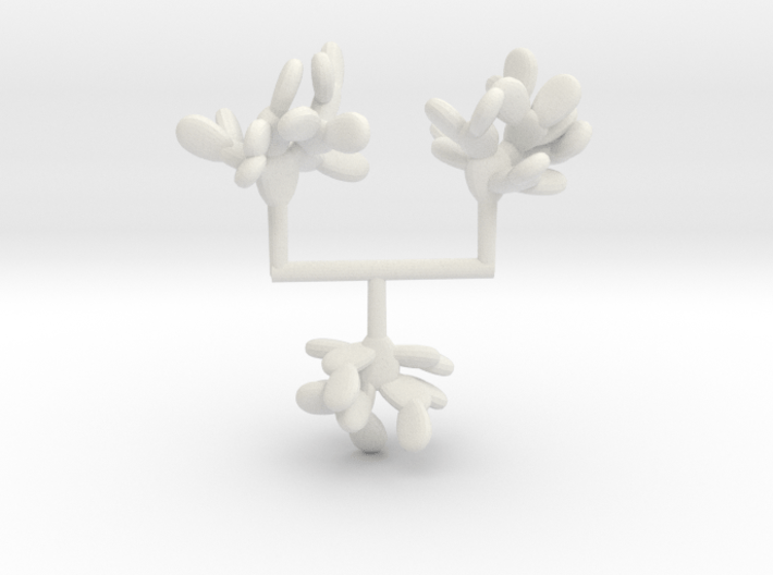 Z-Scale Prickly Pear Collection 01 3d printed