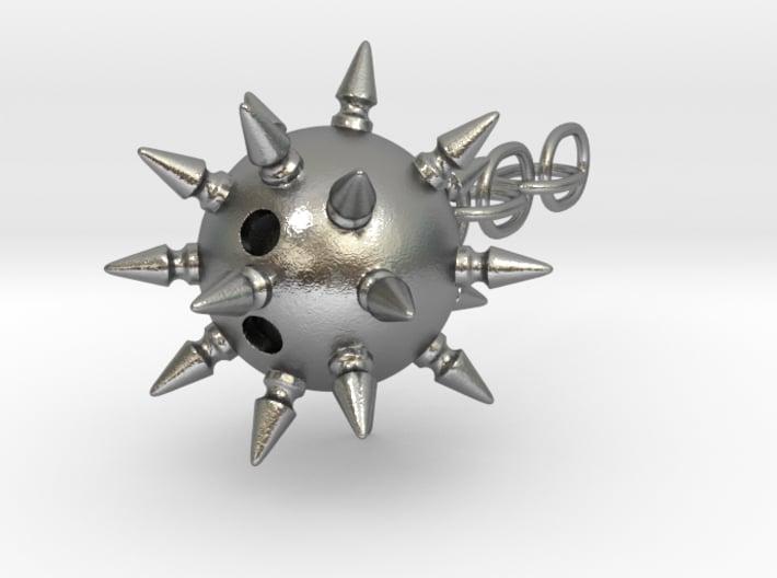 Flail Ball Earring 3d printed