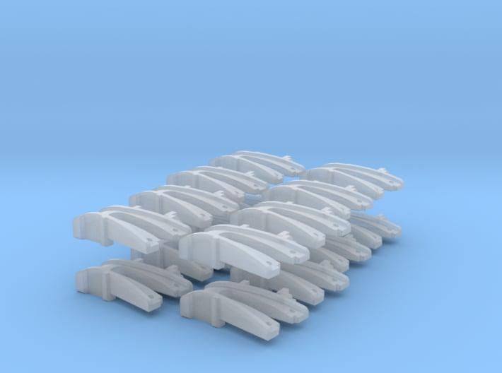 16 No. Re-Railers Type 1 Hanging N Scale 1:160 3d printed