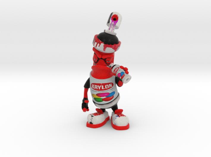 Spray can figure custumized for Eth X 3d printed