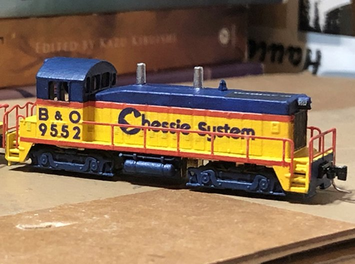 Z Scale SW1200 3d printed