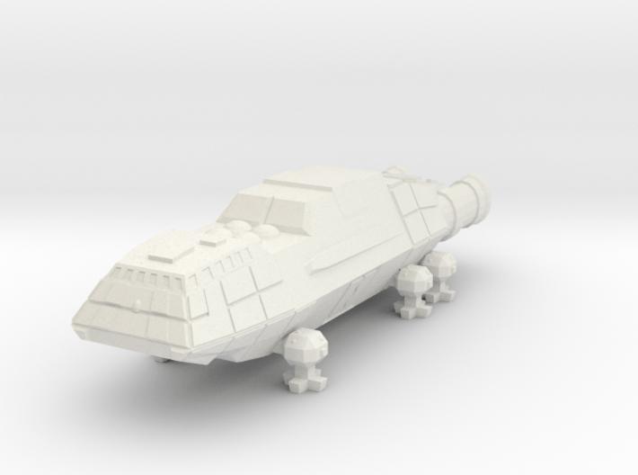 1/1000 Scale Junkyard Dog 3d printed
