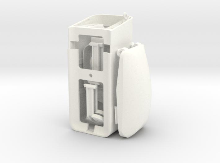 Fuselage Upgrade Kit v2.0 for DJI Phantom 1  3d printed