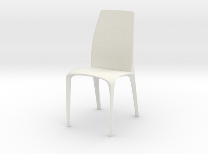 Modern Miniature 1:12 Chair 3d printed