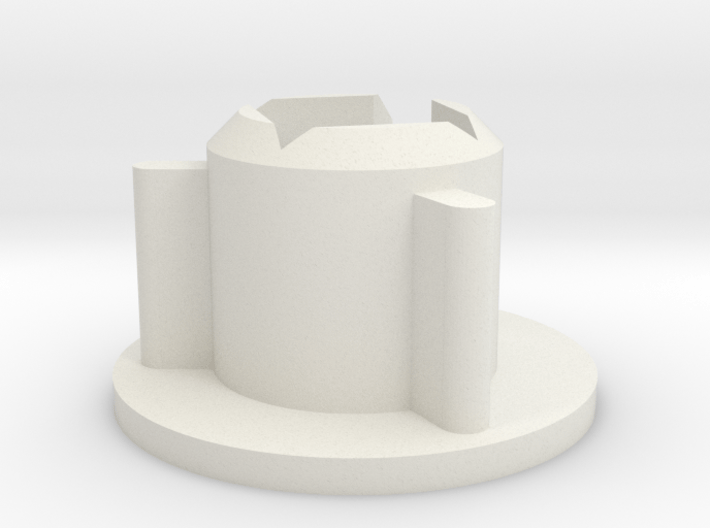 Super8 Reel Adapter for 16mm Rewinds 3d printed