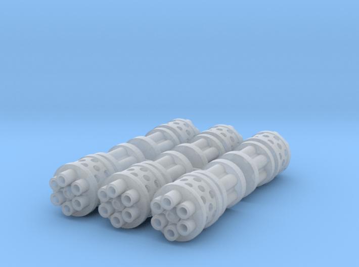 3x Prime Agressor : Gat Barrels 3d printed 3 Set of Barrels (6 total)