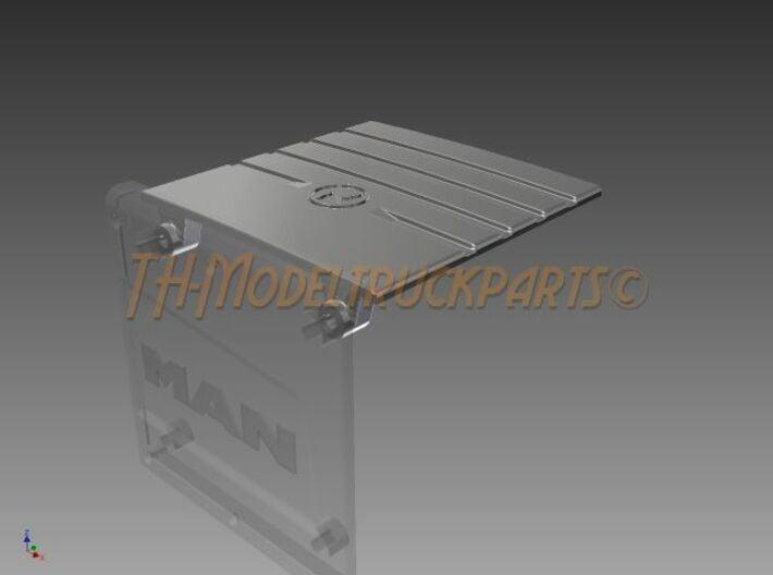 THM 00.2212 Exhaust top cover Tamiya MAN Euro6 3d printed