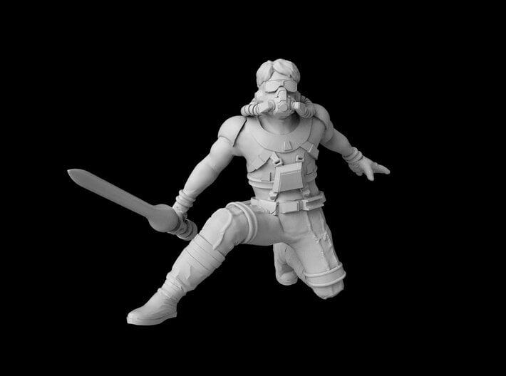 """(Legion) Luke Starkiller """"Concept Art"""" 3d printed"""