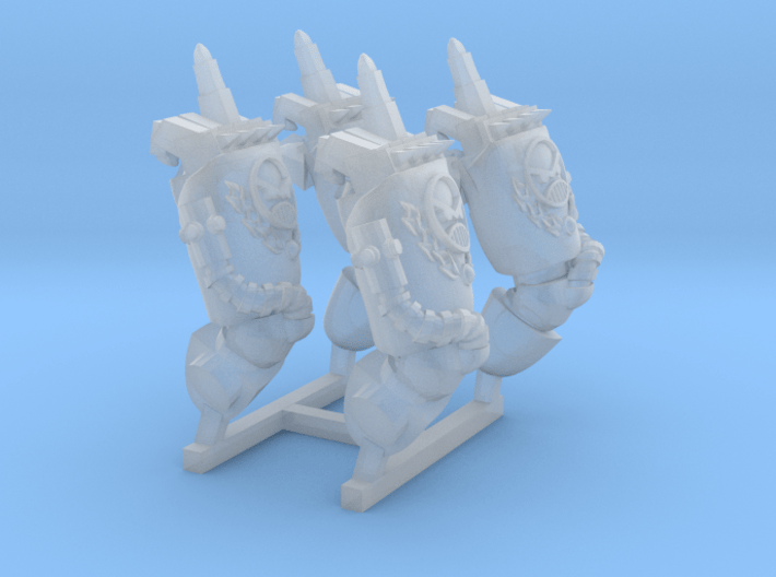 power fist fck off angry marine 3d printed