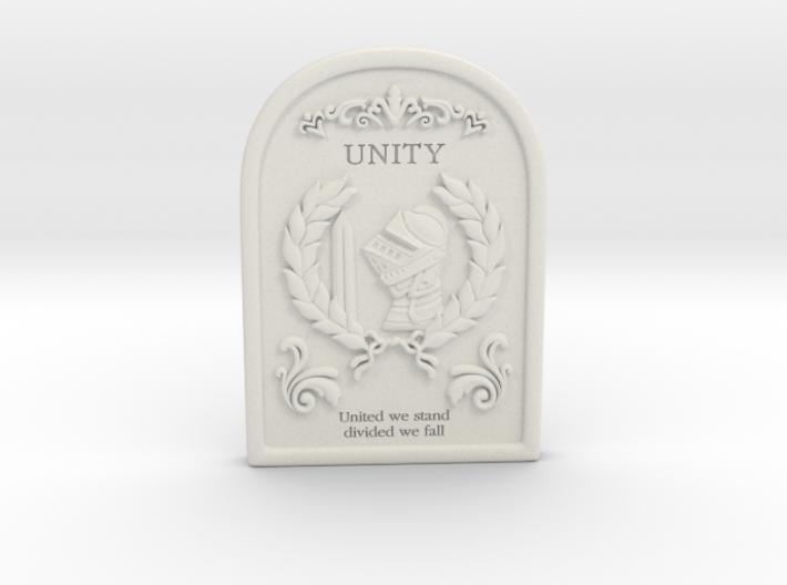 Resident Evil 0: Unity tablet 3d printed