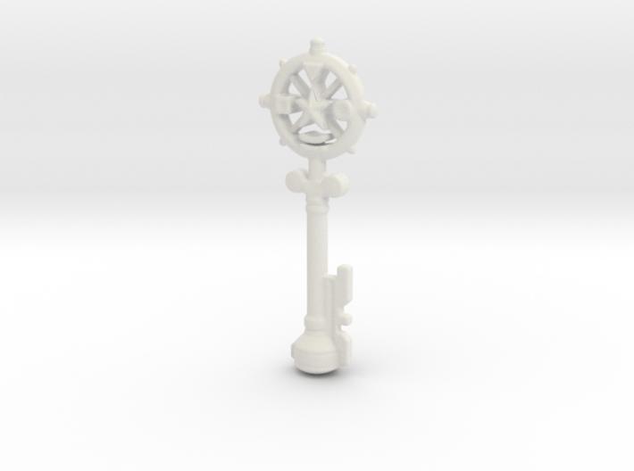 Auric Key 3d printed