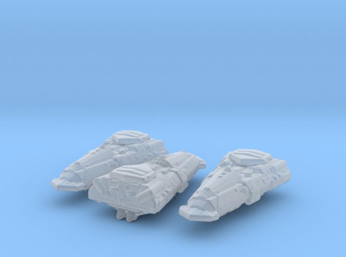 Bajoran Antares Class 1/20000 x3 3d printed
