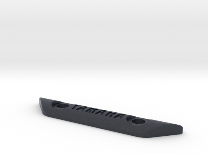curved footpeg plate - YAMAHA 3d printed