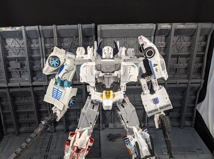 TF Combiner Wars Prime Upgrade Horns 3d printed