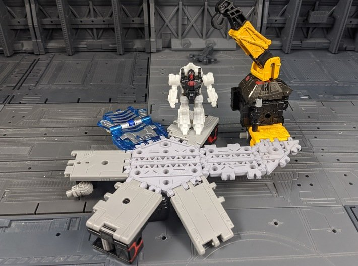 TF Titans Return to Earthrise Straight Ramp Set 3d printed