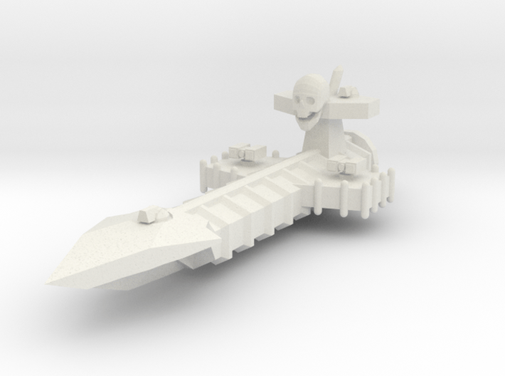 Aotrs201 Spiritwrack Escort Cruiser 3d printed
