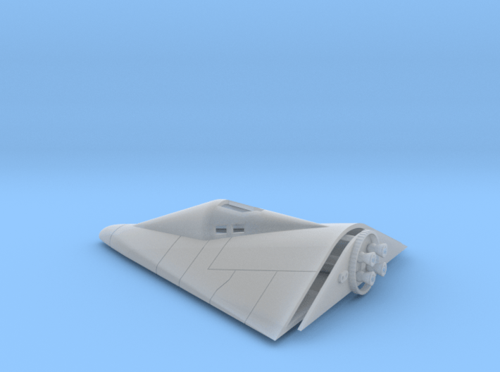 Manned Orbiting Laboratory (MOL) Re-Entry Vehicle  3d printed