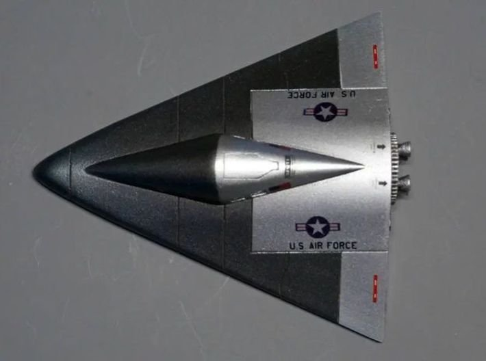 Manned Orbiting Laboratory (MOL) Re-Entry Vehicle  3d printed Completed model