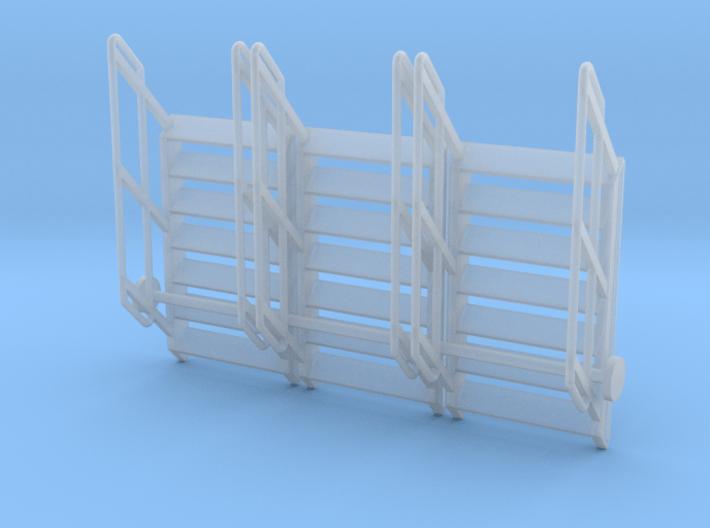 1:64 3x Stairs 7 3d printed