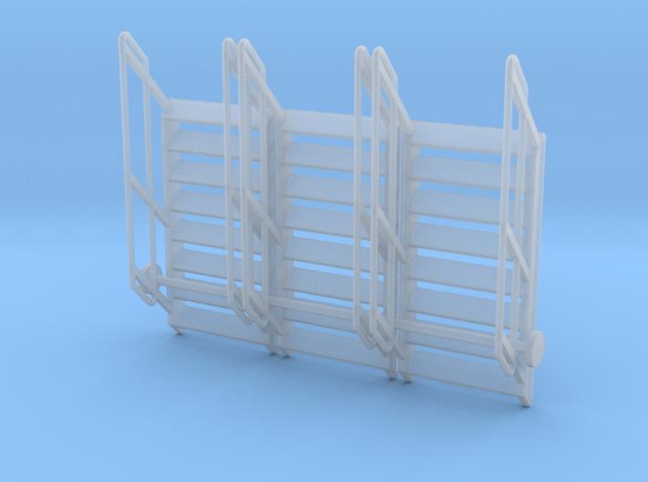 1:64 3x Stairs 8 3d printed