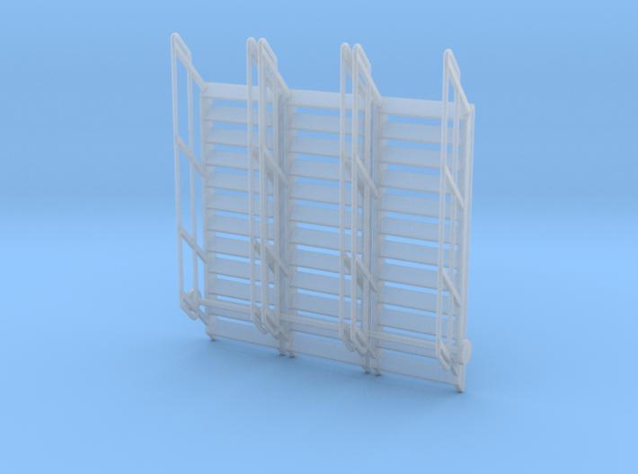 1:64 3x Stairs 12 3d printed