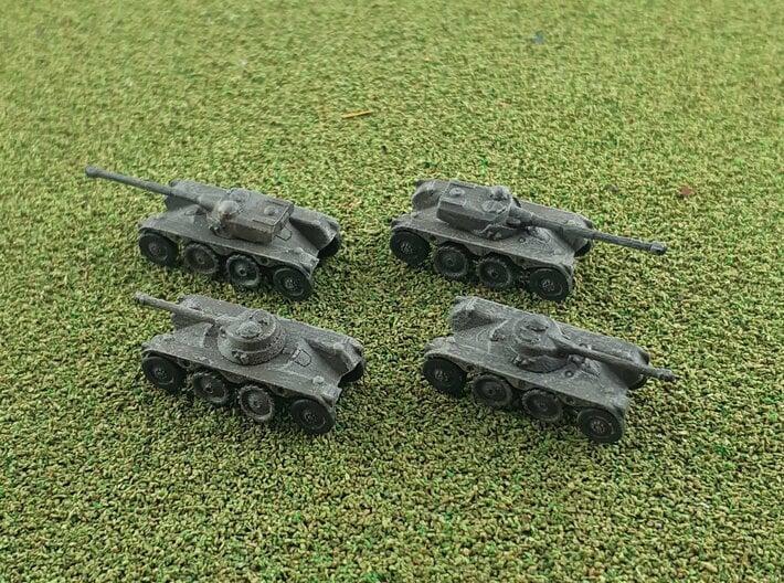 EBR 75 Heavy Scout Car 1/285 6mm 3d printed