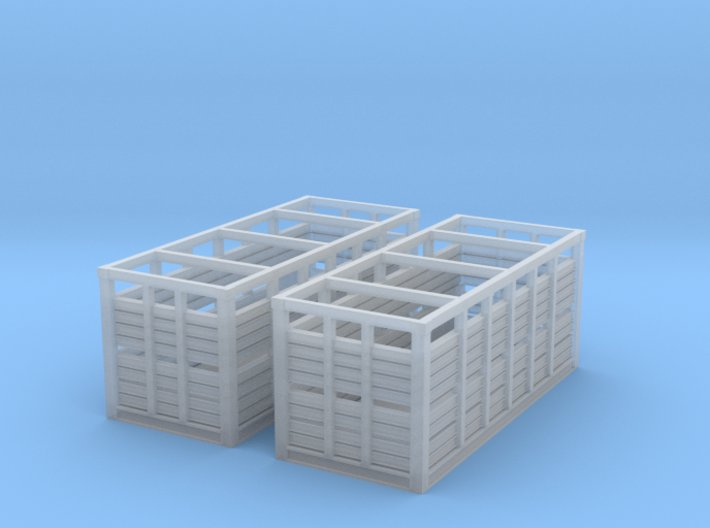 VR N Scale MC Container - Pair 3d printed