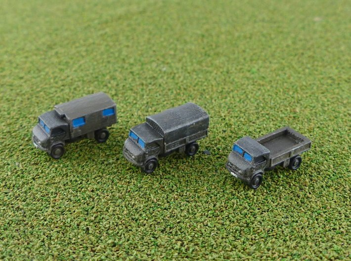 Unimog 404 Light Trucks 1/285 3d printed