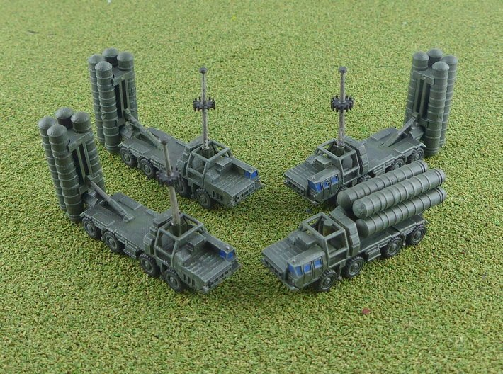 5P85SE / SA-10 Grumble Launchers 1/285 6mm 3d printed