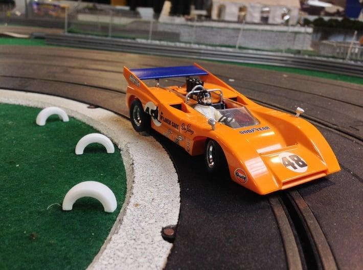 1/32 Slot Car Half Tire boundry ~ Scenery 3d printed