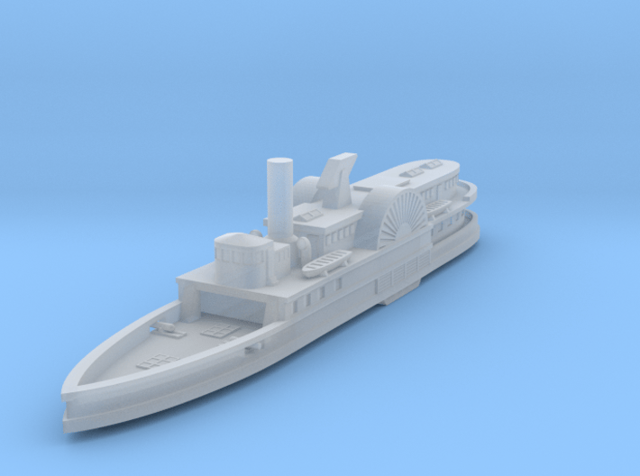 1/600 USS Philadelphia 3d printed