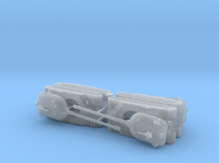 Russian IS-7 Heavy Tank 1/285  3d printed