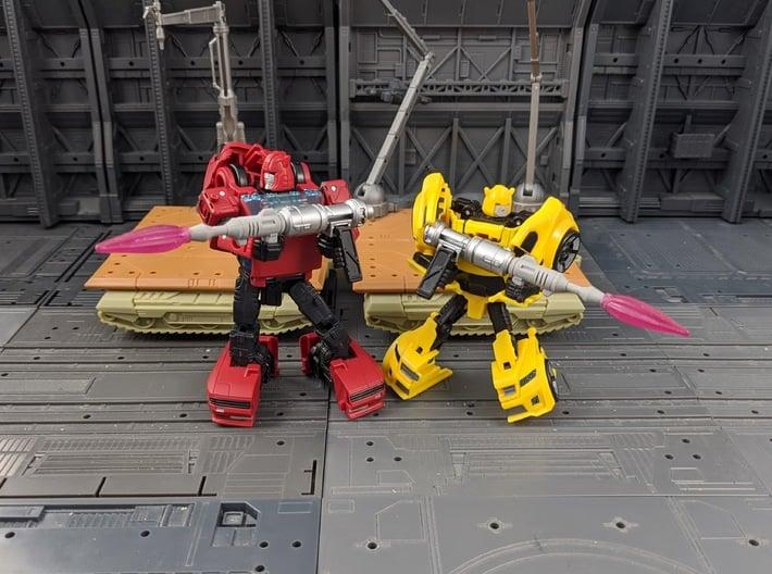 TF Titans Return Legends Bumblebee Blaster 2 Pack 3d printed