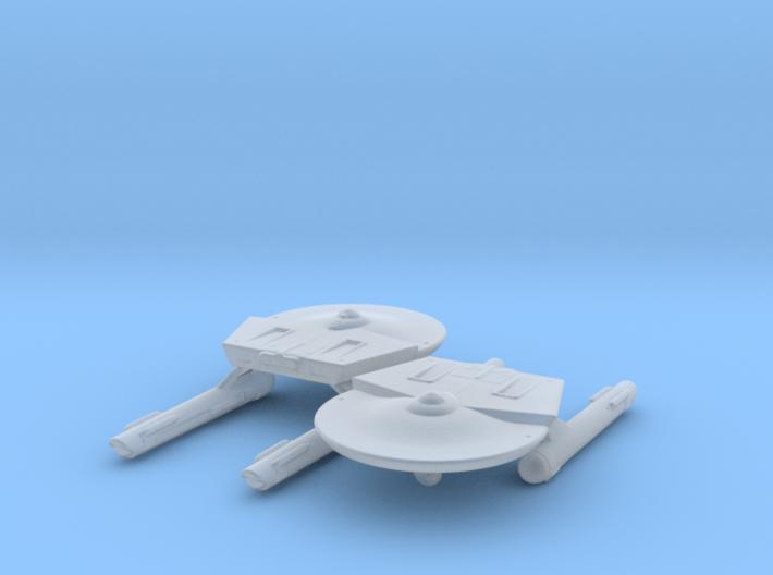 Miranda Class (TOS) 1/4800 Attack Wing x2 3d printed