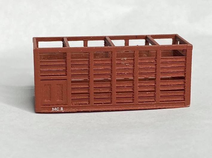 VR N Scale MC Container - Pair 3d printed Sample print from Shapeways