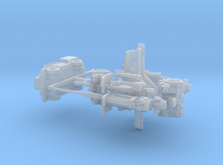 8,8cm Flak 41 Set 1/ 200 3d printed