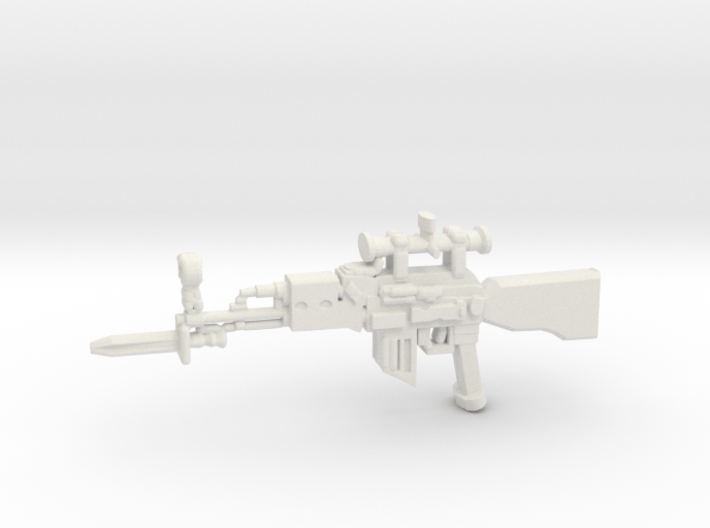 Sniper Rifle AK47 v3 3d printed