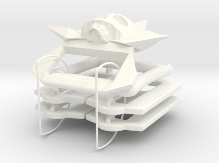 Pirate Baldric Set 3d printed