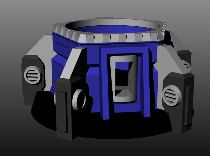 Heavy Weapons Turret 3d printed