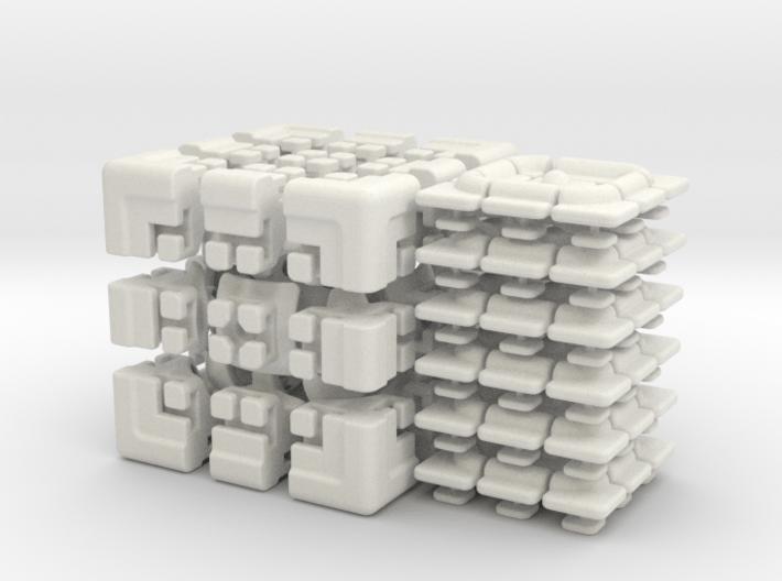 Get Stuck Cube 3d printed