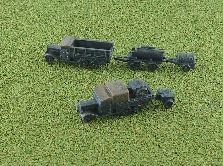 German mobile Fieldkitchen Unit 1/285 3d printed