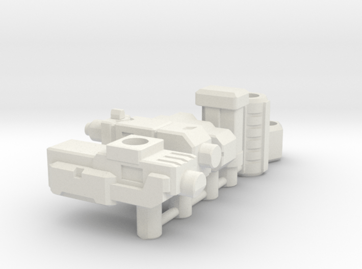 TF Weapon Seige Earthrise Combiner Blaster Set 3d printed