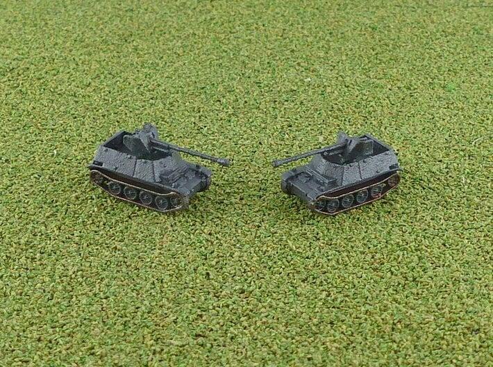 German Marder II (7,62cm (r)) Tank Hunter 1/285 6m 3d printed