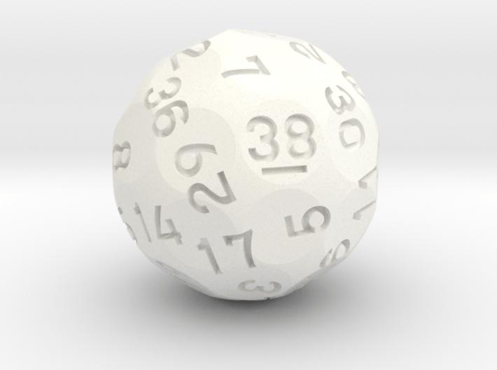 d38 Sphere Dice (Ver. 2) 3d printed