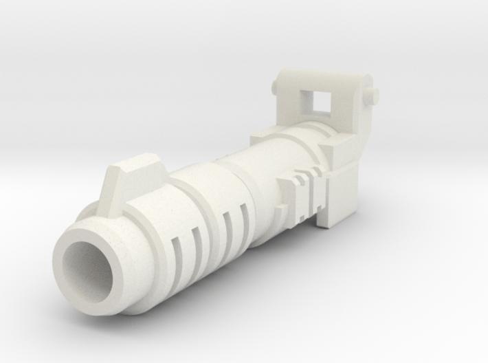 TF POTP Seige Prime Master upgrade Barrel 3d printed